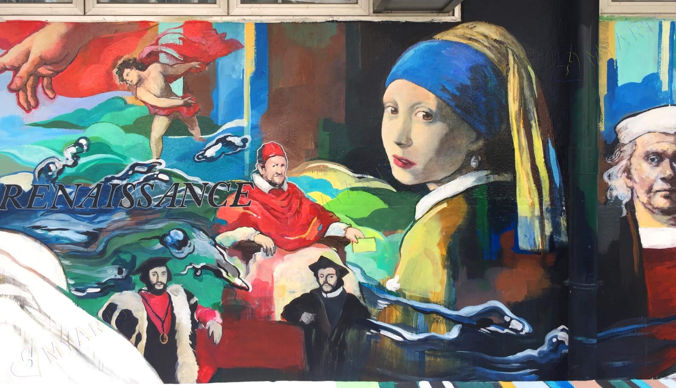 壁畫服務|壁畫工作坊|壁畫設計